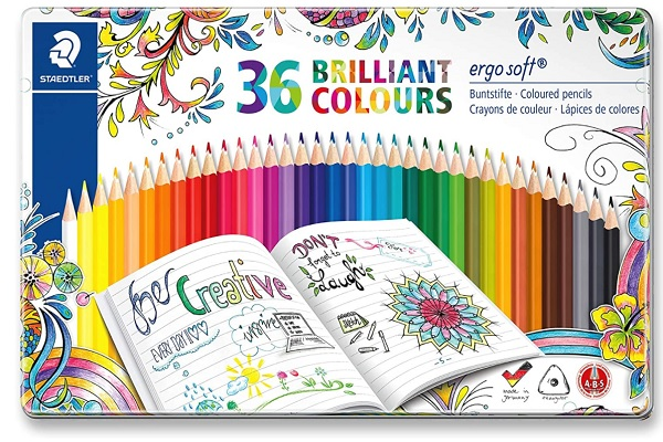 boite de crayons de couleur staedtler