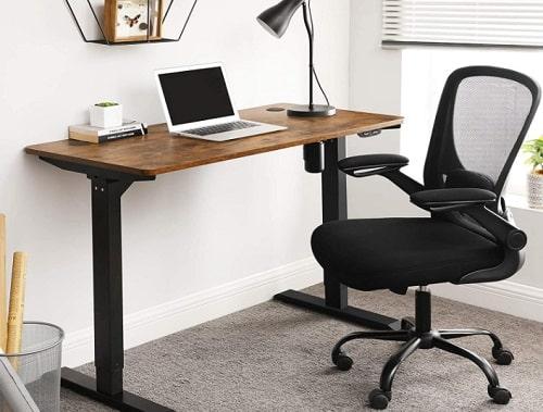 bureau assis-debout en bois
